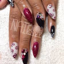 designs for long or stiletto nails long nails oval nails