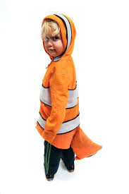 Nemo Halloween Costume Sew Finding Nemo Clownfish Costume 8 Steps Pictures