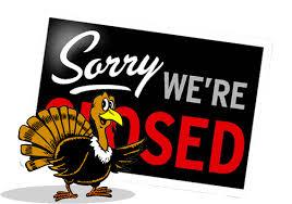 thanksgiving closure