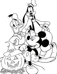 mickey halloween coloring pages halloween mickey mouse coloring
