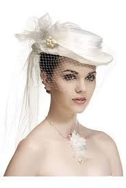 chapeau pour mariage chapeau femme avec voilette ceremonie mariage mariee blanc ou