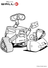 wall e coloring pages hellokids com