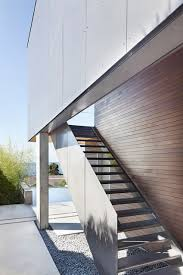 Steep Slope House Plans Sleek Slope House With Interior Featuring Concrete
