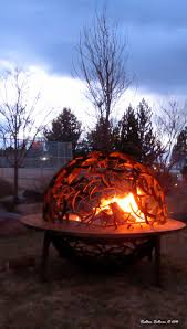 dragon fire pit fire bend branches