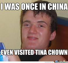 Tina Meme - tina chown by matteim meme center