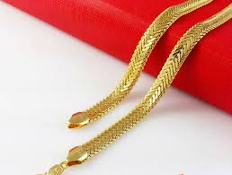 man gold necklace wholesale images Fun 24k gold necklace for men 24k 22k cross solid chain wholesale jpg
