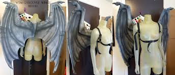 Gargoyle Costume Vtm Gargoyle Wings By Magpieb0nes On Deviantart
