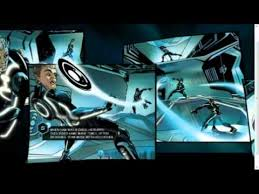 html5 tron legacy comic digital book project technology