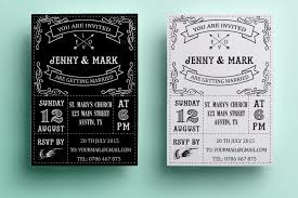 and black wedding invitations 90 gorgeous wedding invitation templates design shack