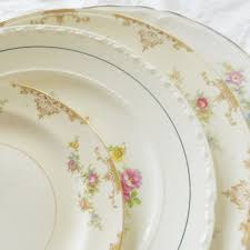 Shabby Chic Dinner Set by Shop Vintage Tea Party Set On Wanelo