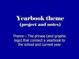 a yearbook yearbook terminology ppt online