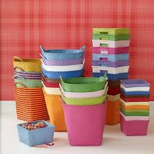 Kids Storage Shelves With Bins by 103 Best Bins And Baskets For Organizing Images On Pinterest