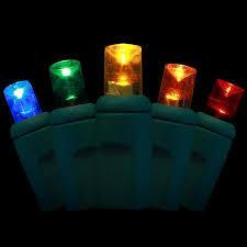 70 bulb 5mm led string mini lights 4 spacing multi color