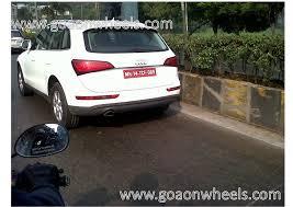 Audi Q5 Facelift - spied 2013 audi q5 facelift caught testing in mumbai launch in