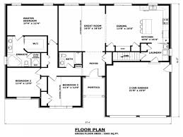 Housing Blueprints Floor Plans by 100 Home Building Blueprints One Story House U0026 Home