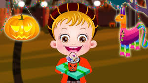 baby hazel halloween party games compilation by baby hazel games