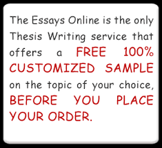 essays online thesis writing and custom essay writing for free
