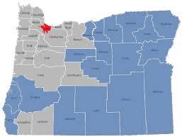 political map of oregon oregon set to nation s highest minimum wage nwlaborpress
