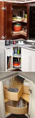 corner kitchen cabinet shelf ideas fabulous hacks to utilize the space of corner kitchen