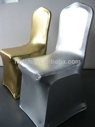 gold chair covers luxury metal gold silver chair covers weddings chair covers
