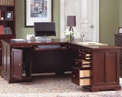 Office Desks L Shaped Home Office Desk With Cabinet Greenville Home Trend