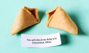 where can you buy fortune cookies you can now buy hilariously grim fortune cookies from cards