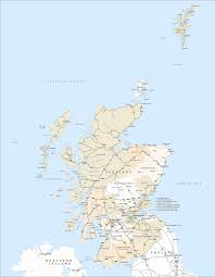 Map Of Scotland And England Political Map Of Scotland Royalty Free Editable Vector Map Maproom