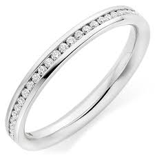 white gold eternity ring 18ct white gold diamond eternity ring 0000201 beaverbrooks the