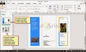 cara membuat brosur makanan cara cepat membuat brosur dengan publisher tutorial89
