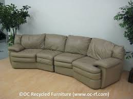 Curved Sectional Recliner Sofas Curved Sectional Recliner Sofas Sofa Leather Uk Scifihits Blue