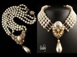 pearl necklace pictures images Latest top 10 vintage pearl necklace designs jpg