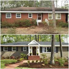 30th my favorite exterior brick paint color before after painted