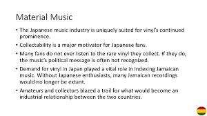 reggae inna tokyo studying the japan jamaica music industrial