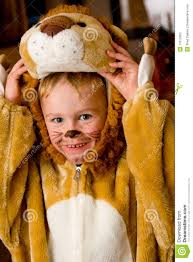 Lion Halloween Costume Toddler Lion Costume Stock Photos Image 11613363
