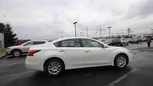 Nissan Altima White - 2015 nissan altima 2 5 s pearl white fn322202 kent tacoma