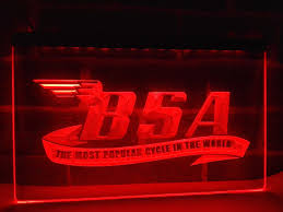 bsa motorcycle sign promotion shop for promotional bsa motorcycle