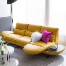 Yellow Leather Sofa by 25 Pieces Of Leather Furniture That Will Make Christian Grey Blush