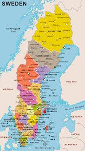 map of sweden sweden political map political map of sweden political sweden