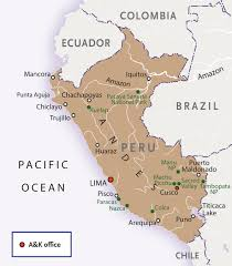 Lake Titicaca Map Introduction To Peru