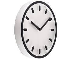 Horloge Murale Cuisine Design by Horloge Murale Tempo Noir Magis