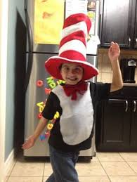 Cat In The Hat Costume Cat In The Hat Costumes Homemade Cat In The Hat Costume Ideas