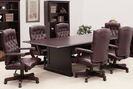 Black Boardroom Table Boardroom Table And Chairs Set Burgundy Or Black Upholstery