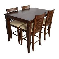 75 off tall extendable dining room table set tables