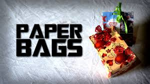 diy paper bags best out of waste hand bags youtube