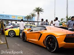 lamborghini car owners in chennai 10 sports cars impounded by chennai for racing drivespark
