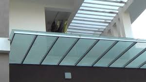 Glass Pergola Roof by Sandeep Glass Glass Roofing Youtube