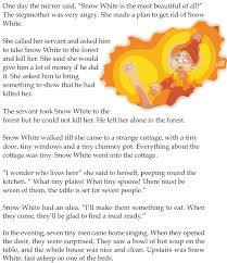 grade 1 reading lesson 20 fairy tales snow white and the seven