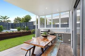 Hamptons Style Outdoor Furniture - hampton style home design traditional patio brisbane by