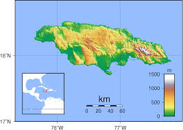 Blank Outline Map Of Jamaica by File Jamaica Topography Png Wikimedia Commons