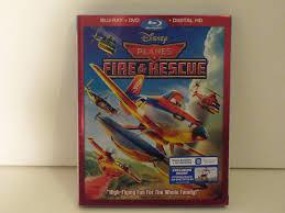 disney u0027s planes fire u0026 rescue blu ray dvd unboxing review